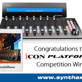 Icon Platform M+ - Pro Tools Expert Winner - News Image - Synthax Audio UK