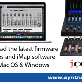 Icon iMap Software Now Available For Mac OS - Synthax Audio UK