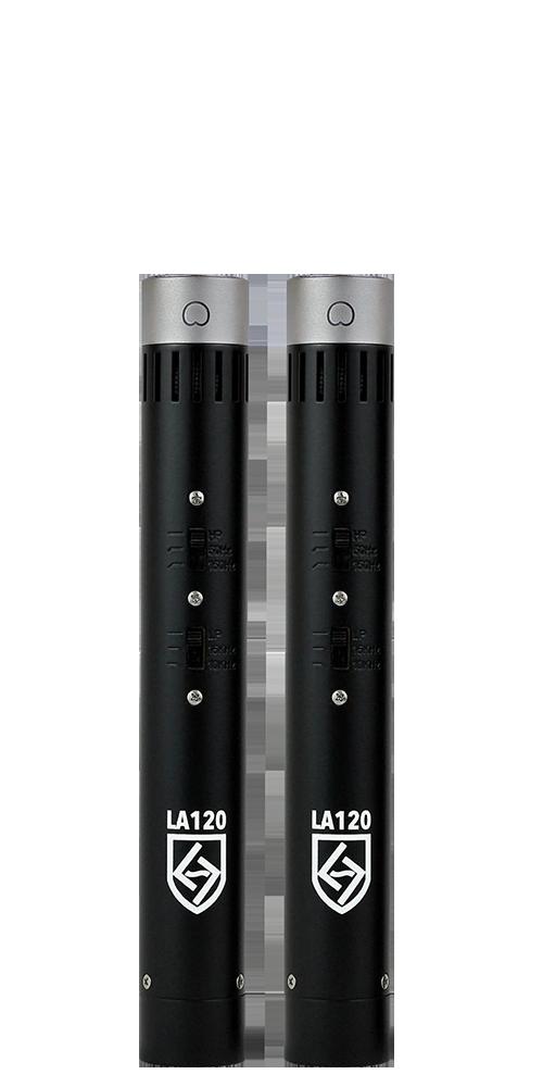 Lauten Audio Series Black LA-120 FET Condenser Microphones (Matched Pair)