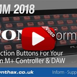 NAMM 2018 - Icon Platform B+ & OneHub Video - Synthax Audio UK