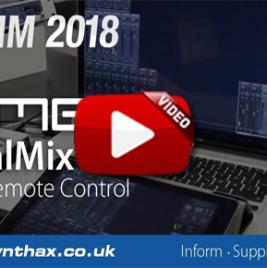 RME TotalMix FX v1.50 & TotalMix Remote - NAMM 2018 Video