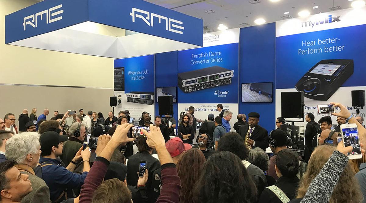 RME at NAMM 2018