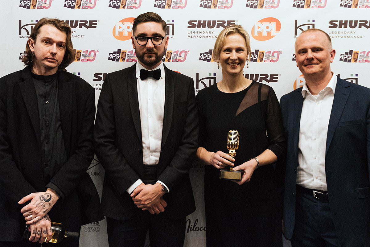 Abbey Road Studios - MPG Awards 2018 - AltJ -Martin Warr - Jennifer McCord - Synthax Audio UK