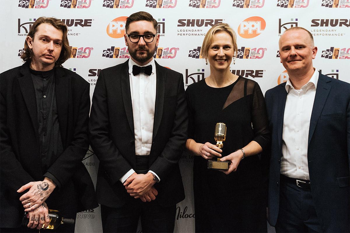 Abbey Road Studios - MPG Awards 2018 - AltJ -Martin Warr - Jennifer McCord - Synthax Audio UK