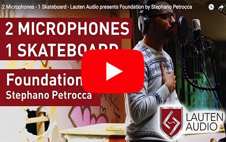 Lauten Audio Series Black Microphones - Montreal Video - Synthax Audio UK