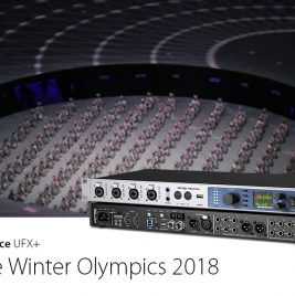 RME Fireface UFX+ - Winter Olympics 2018 - Synthax Audio UK