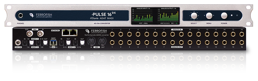 Ferrofish Pulse 16 Dante Converter
