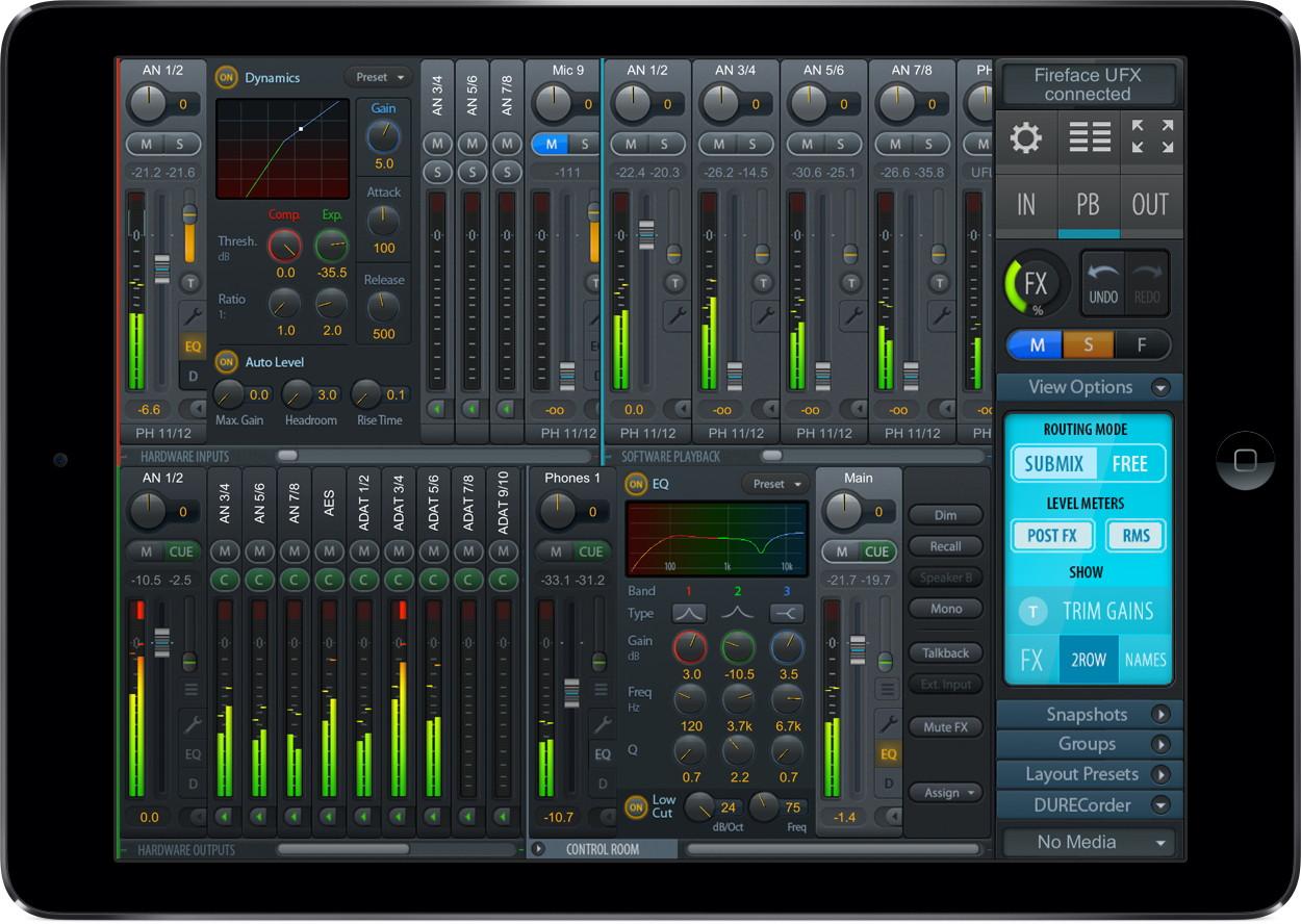 RME TotalMix iOS App - Synthax Audio UK