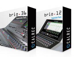 Calrec Brio 36 & 12 upgrades
