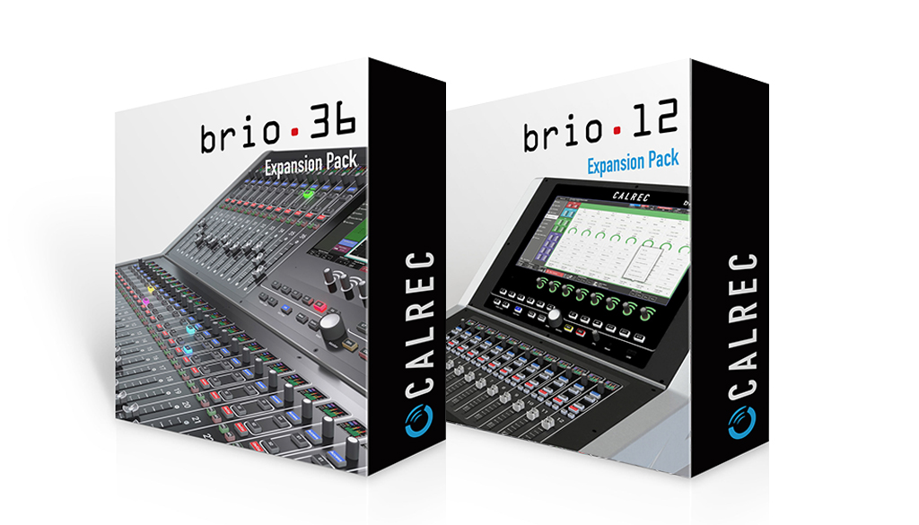 Calrec Brio 36 & 12 upgrades