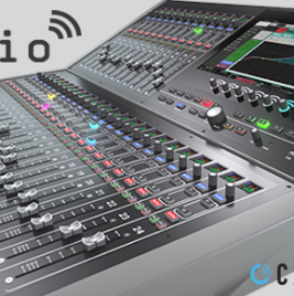 Calrec Brio distributed by Synthax Audio UK