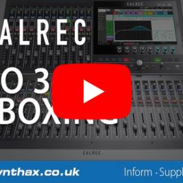 Calrec Brio 36 - unboxing video - Synthax Audio UK