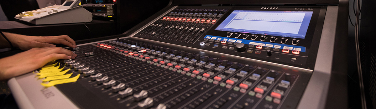Calrec Brio Broadcast Console - Full Sail University - Synthax Audio UK