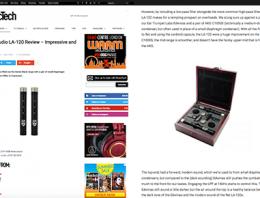 Lauten Audio LA-120 review by MusicTech - Synthax Audio UK