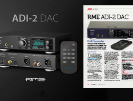 RME ADI-2 DAC review by Sound On Sound - News Image
