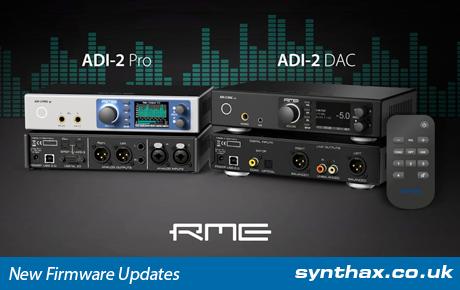 RME ADI-2 Pro & DAC - Firmware Update - Synthax Audio UK