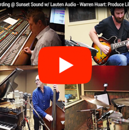 Darrell Thorp - Sunset Sound - Lauten Audio Microphones - Synthax Audio UK
