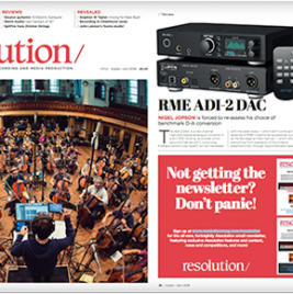 RME ADI-2 DAC review by Resolution Magazine - Synthax Audio UK