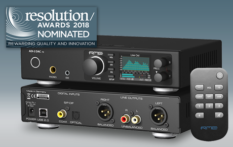 Resolution RME ADI-2 DAC Nomination