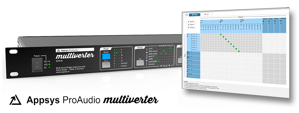 Appsys ProAudio Multiverter MVR-64 - Firmware V3.1 Update - Synthax Audio UK