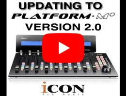2018 - 8 - Icon Platform M+ Firmware and iMap Update - Version 2.0