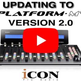 2018 - 8 - Icon Platform M+ Firmware and iMap Update - Version 2.0
