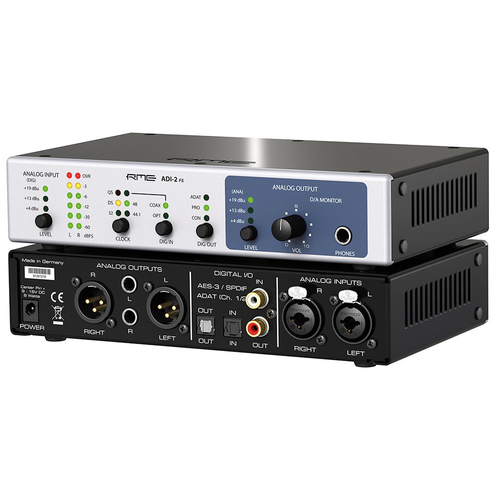 RME ADI-2 FS - Angle - Synthax Audio UK