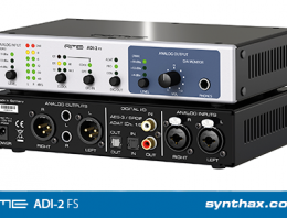 RME launches ADI-2 FS ADDA converter at IBC 2018 - Synthax Audio UK