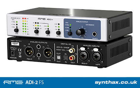 RME launches ADI-2 FS ADDA converter at IBC 2018 - Synthax Audio UK