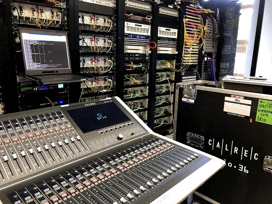 Calrec Brio 36 - Wimbledon - 01 - Synthax Audio UK