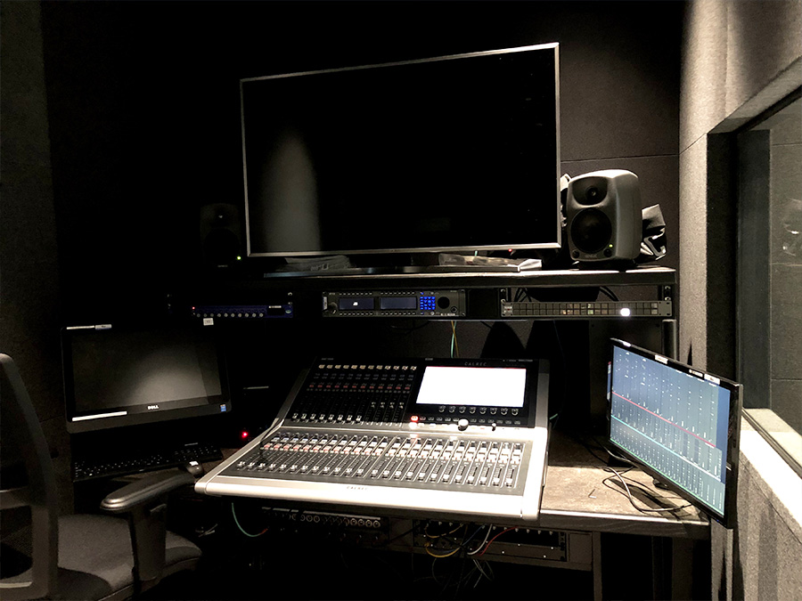 Calrec Brio 36 - Wimbledon - 02 - Synthax Audio UK