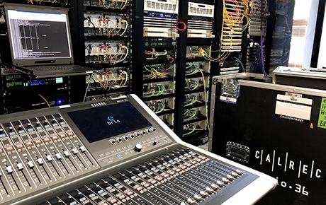 Calrec Brio 36 at Wimbledon - Synthax Audio UK