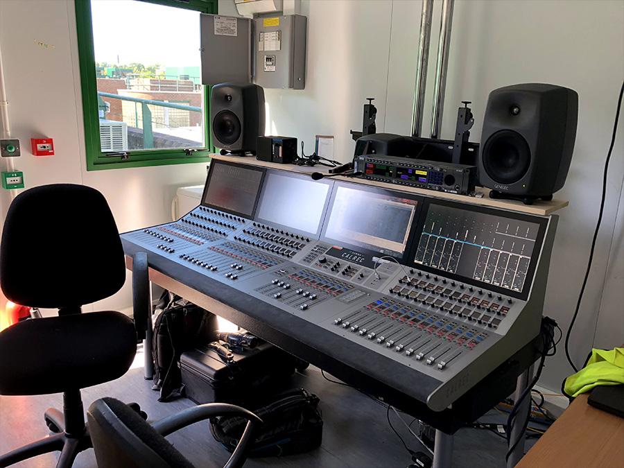 Calrec Summa console - Wimbledon - 01 - Synthax Audio UK