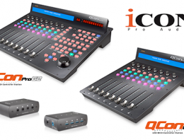 Icon QCon Pro G2 - EX G2 - Now Available - Synthax Audio UK