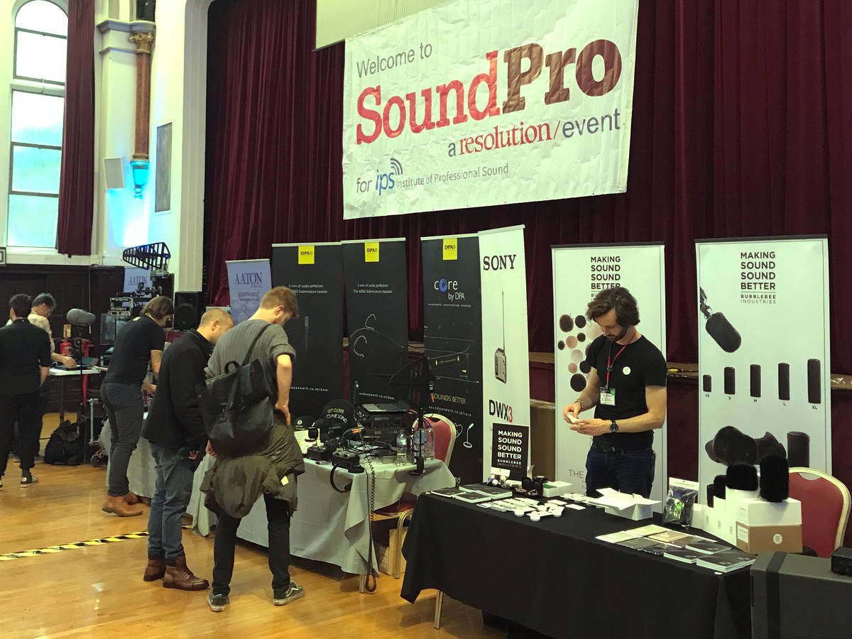 SoundPro 2018 - Main Room 01 - Synthax Audio UK
