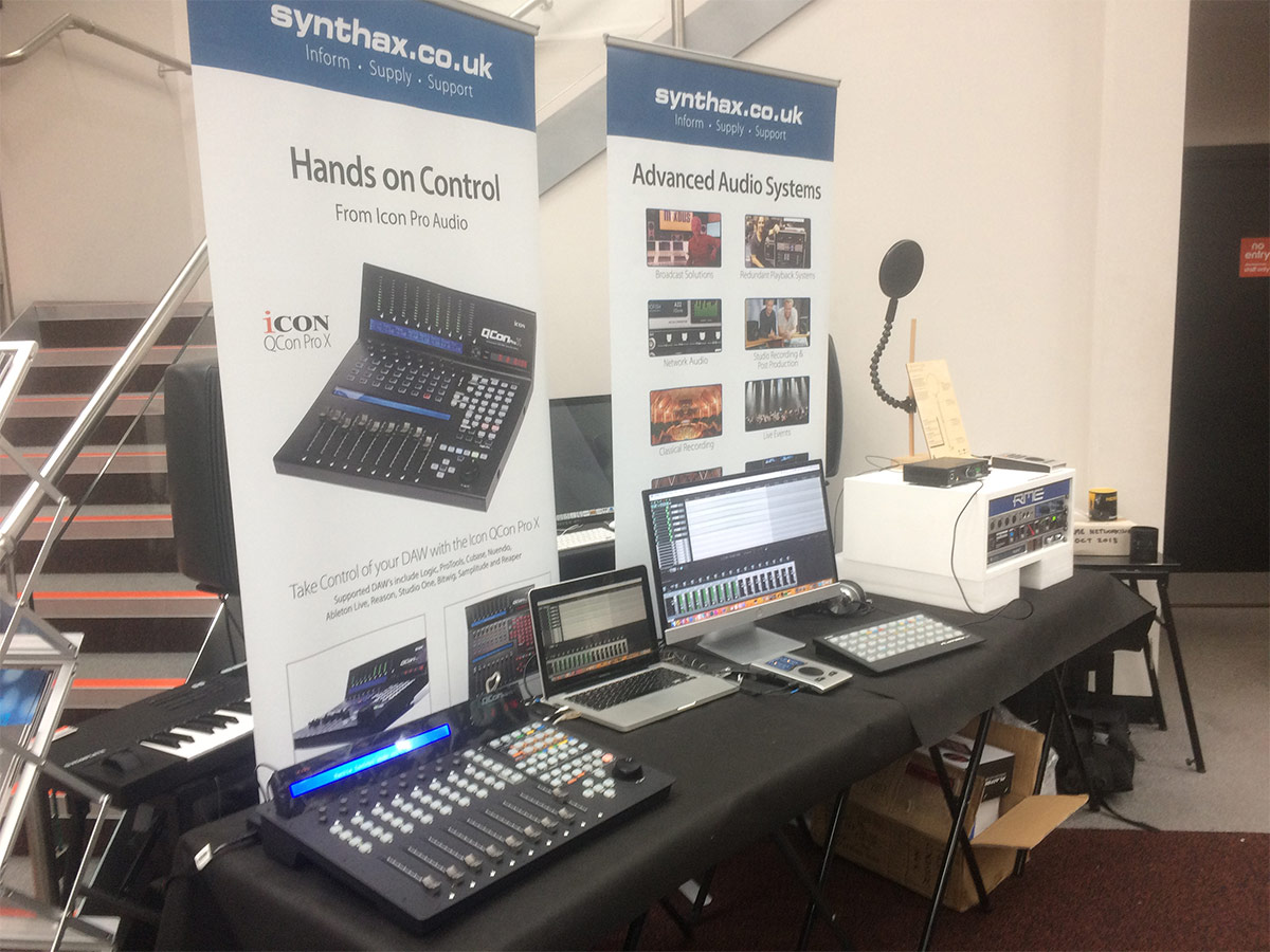 Synthax Stand 03 - Absolute Music 2018 - Synthax Audio UK