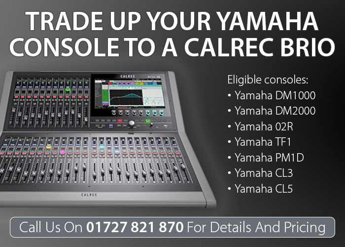 Calrec Yamaha Trade-In Deal - 02 - Synthax Audio UK
