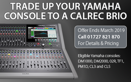 Calrec Yamaha Trade-In Deal - Synthax Audio UK
