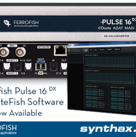 Ferrofish RemoteFish Software - Now Available - Synthax Audio UK