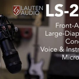 Lauten Audio Announces LS-208 Front-Address Microphone - Synthax Audio UK