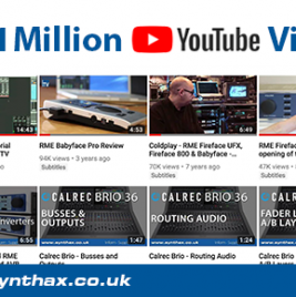 SynthaxTV hits 1 million YouTube views