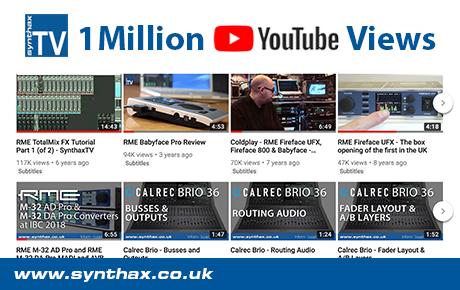 SynthaxTV hits 1 million YouTube views