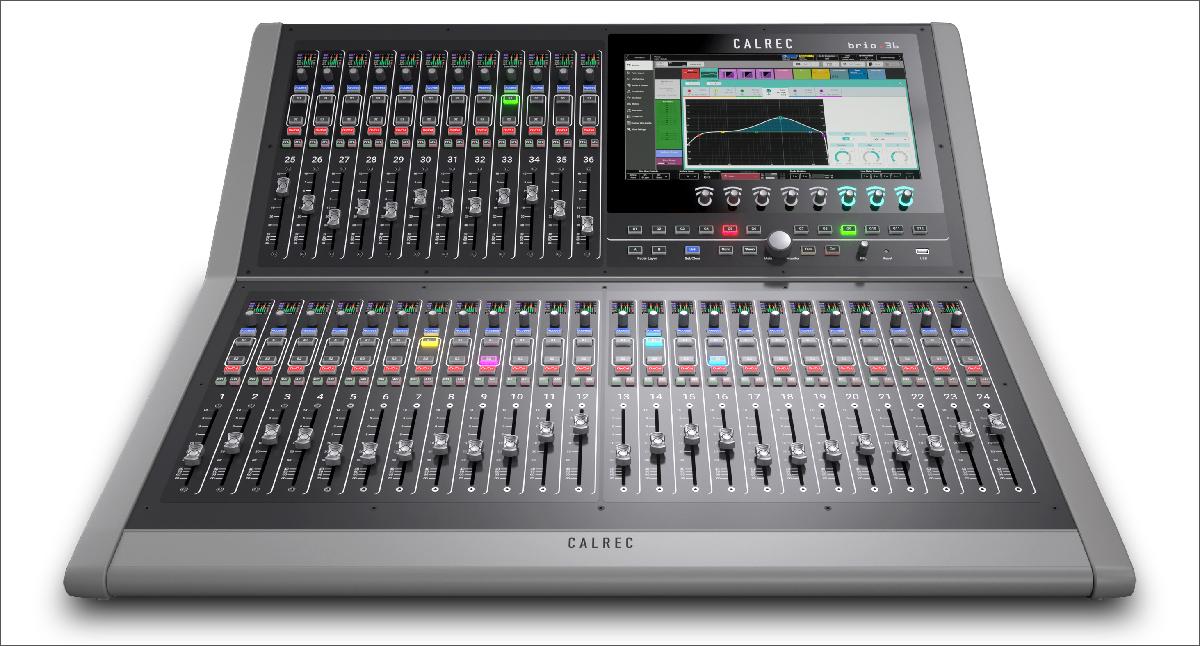 Calrec Brio 36 Broadcast Console