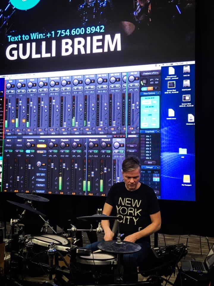 Gulli Briem - RME Booth - NAMM 2019 - Synthax Audio UK