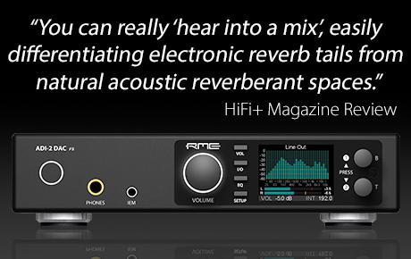HiFi Plus Magazine reviews the RME ADI-2 DAC - Synthax Audio UK