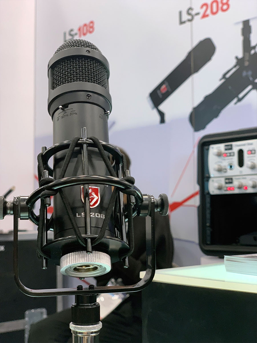 Lauten Audio - LS-208 Microphone - NAMM 2019 - Synthax Audio UK