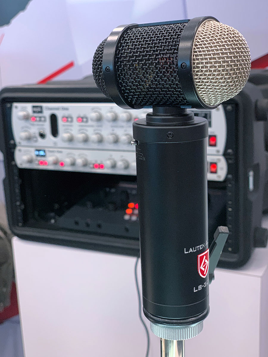 Lauten Audio - LS-308 Microphone - NAMM 2019 - Synthax Audio UK