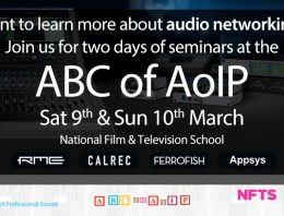 ABC of AoIP - IPS - NFTS - Synthax Audio UK