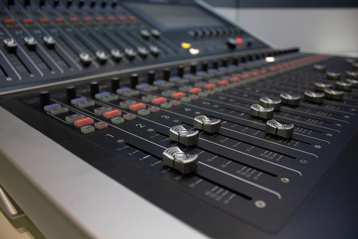 BVE 2019 - Calrec Brio 36 - 02 - Synthax Audio UK