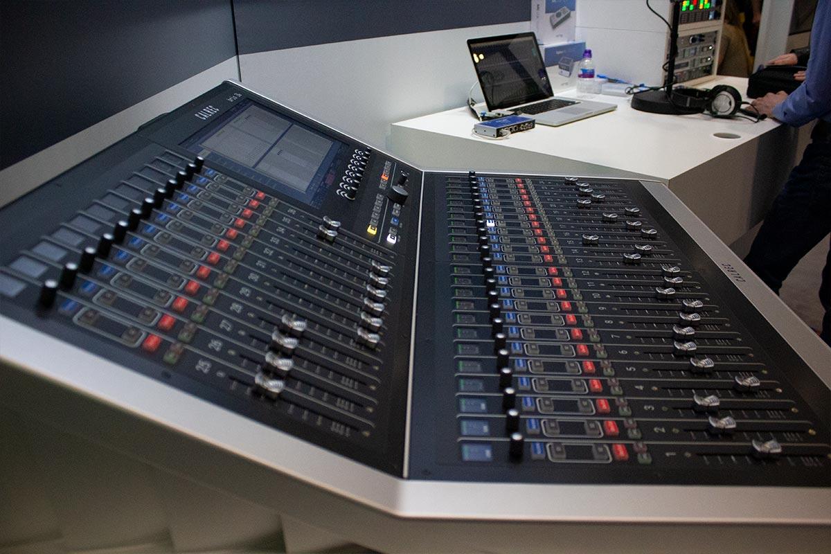 BVE 2019 - Calrec Brio 36 - 03 - Synthax Audio UK